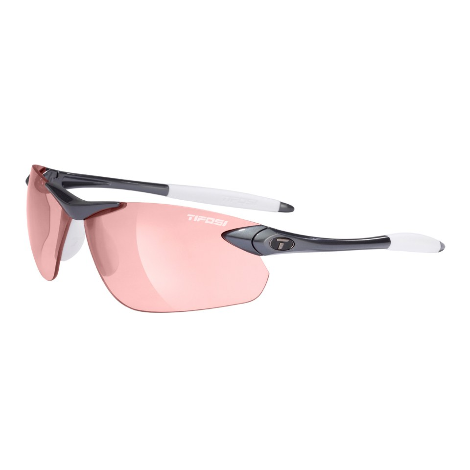 Tifosi Seek FC Fototec Sunglasses - Gunmetal/Red