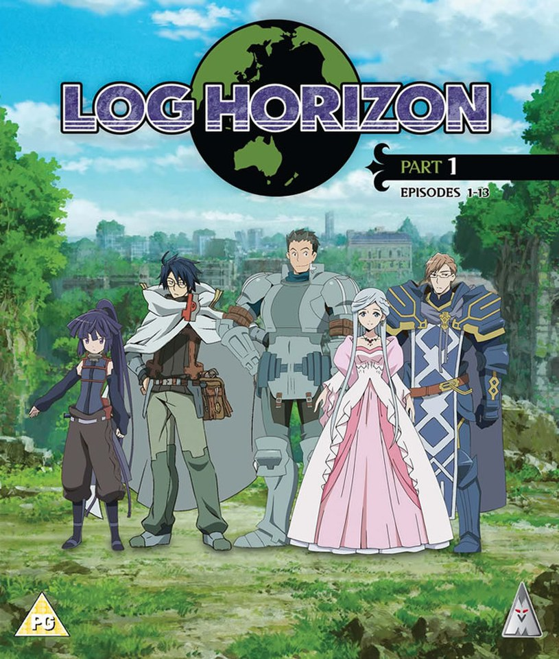 Log Horizon Part 1 Blu Ray Zavvi