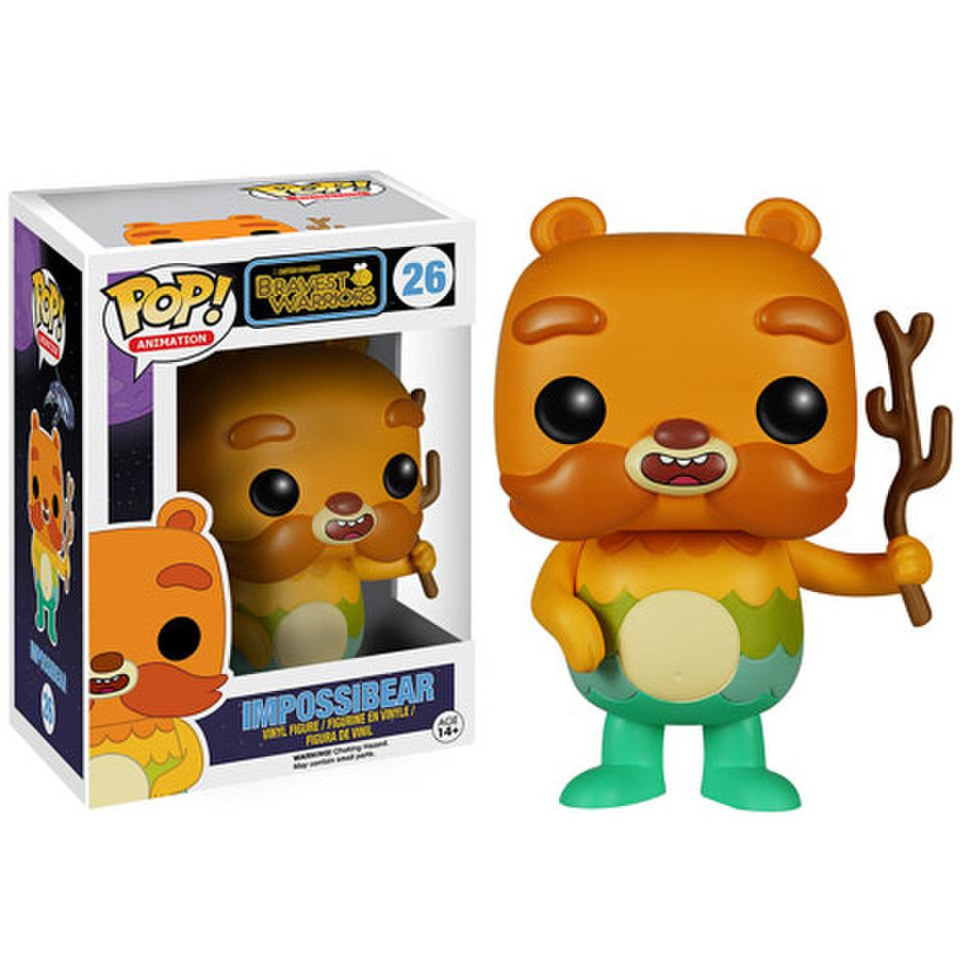 Figurine Impossibear -Bravest Warriors Funko Pop!