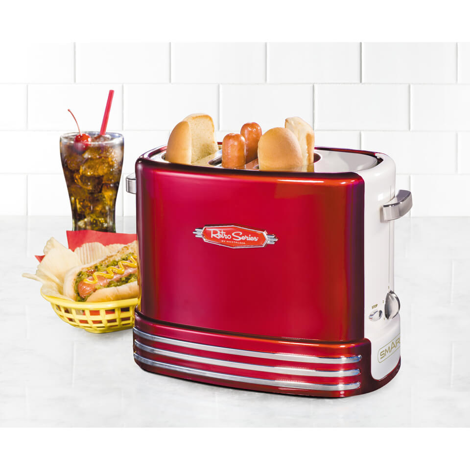 SMART Retro Pop-Up Hot Dog Toaster