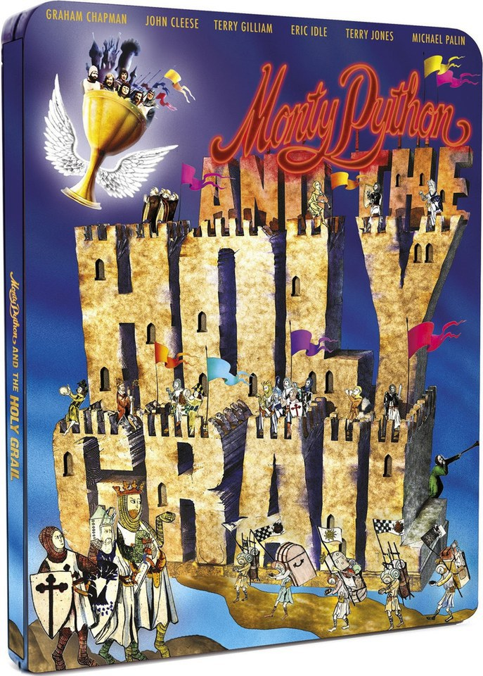 Monty Python And The Holy Grail - Limited Edition Steelbook (UK EDITION)