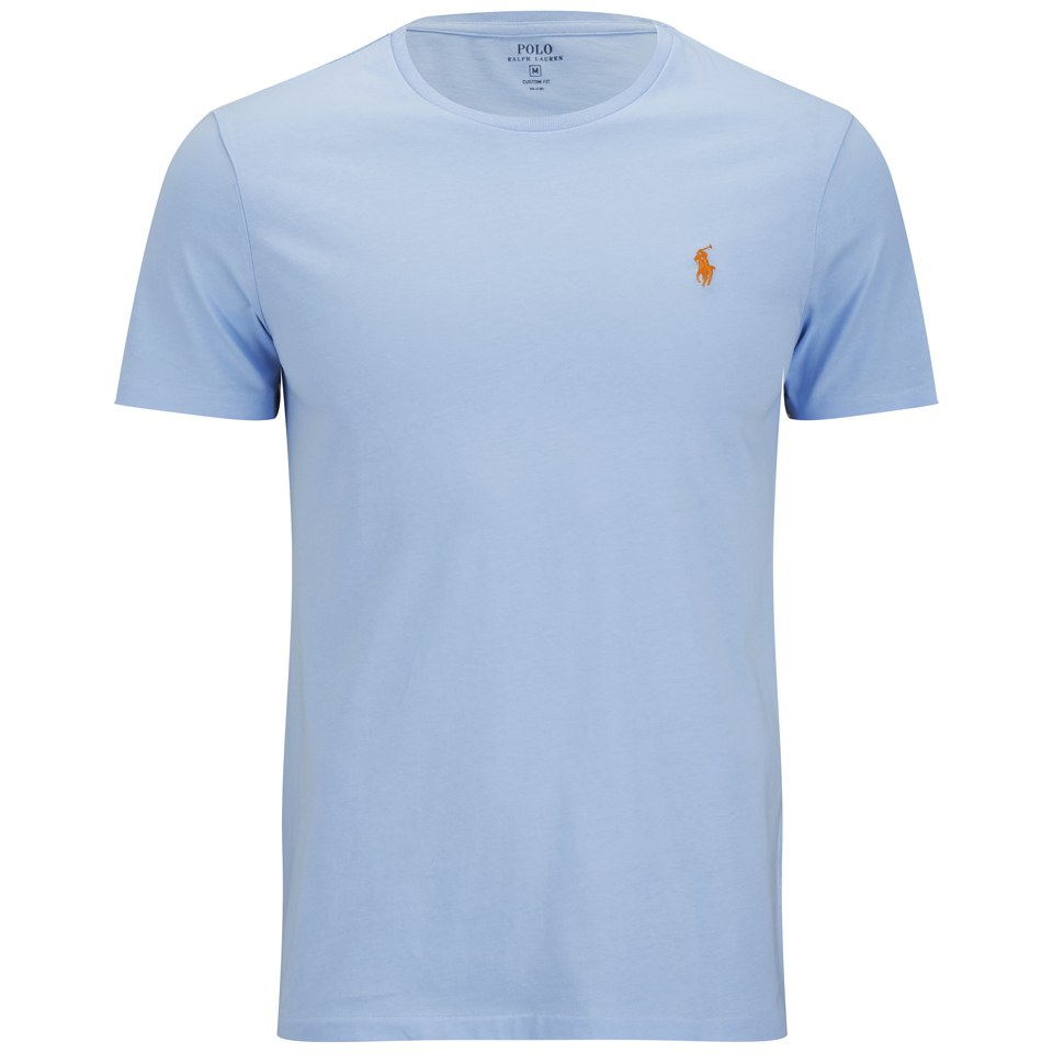 7d6fd217b Polo Ralph Lauren Men s Custom Fit Crew Neck T-Shirt - Blue Bell ...