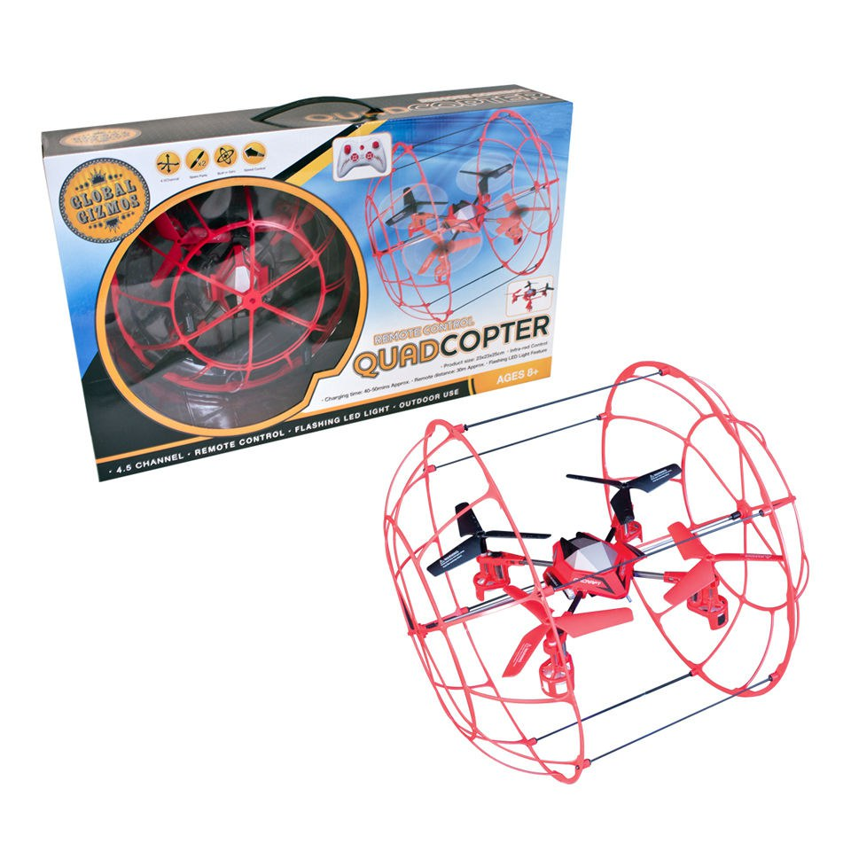 R/C Quadcopter Aircraft - Grade A Refurb