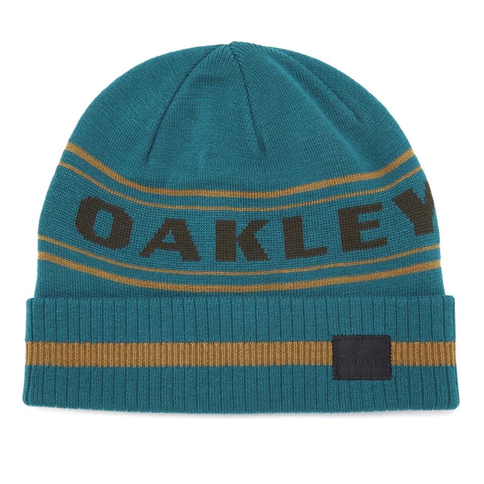 d4e2ba87629 Oakley Men s Rockgarden Cuff Beanie - Aurora Blue Mens Accessories ...