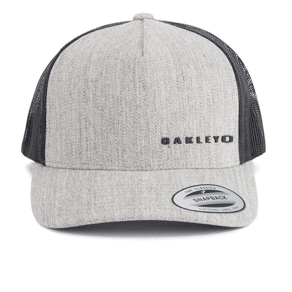 a42e7d16e89bbd Oakley Men's Halifax Trucker Hat - Grey Clothing | Zavvi
