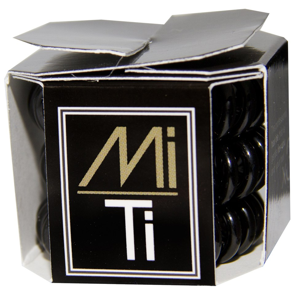 MiTi Professional Hair Tie - Midnight Black (3pc)  41203a7036a
