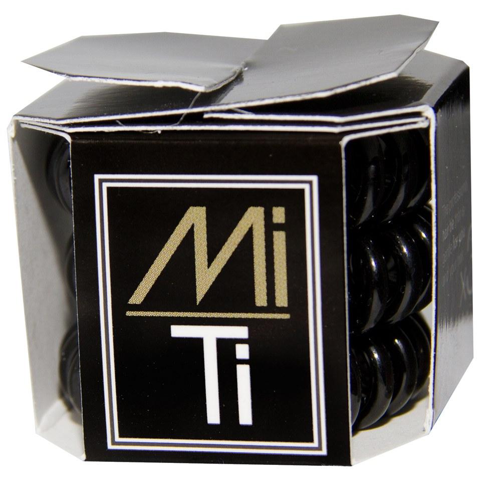 MiTi Professional Hair Tie - Midnight Black (3pc)  8858fba0688