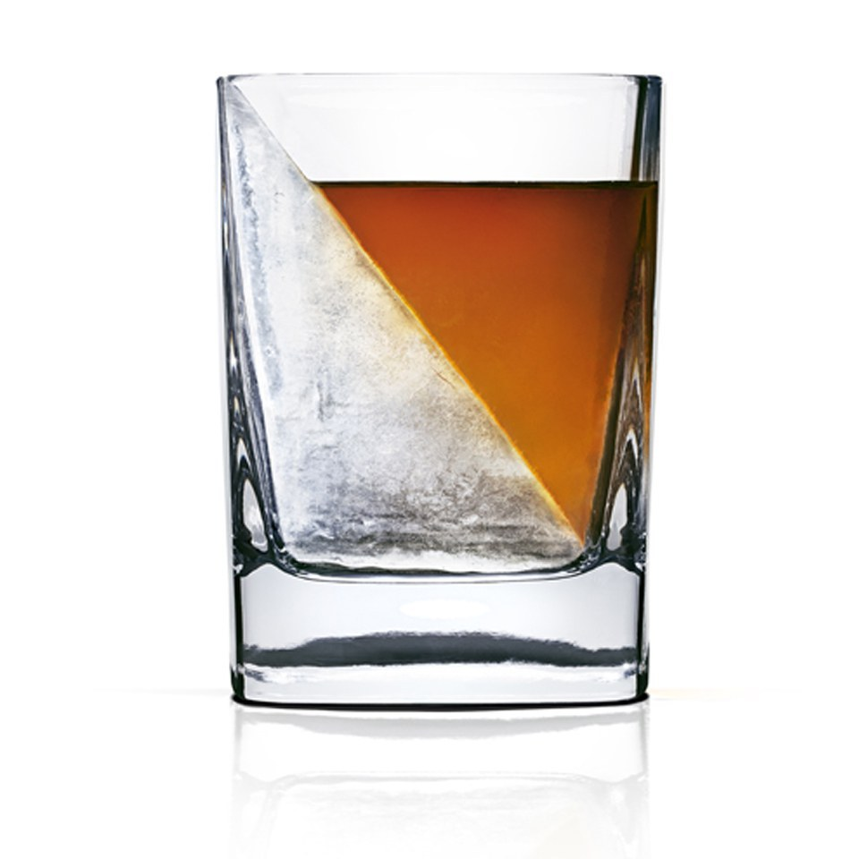 Whiskey Wedge Glass And Ice Mould Iwoot