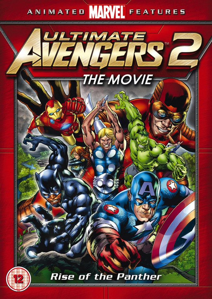 Ultimate Avengers 2 Dvd Zavvi