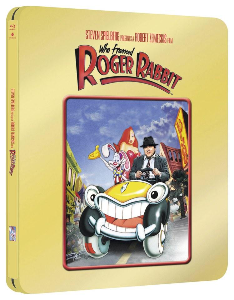 Who Framed Roger Rabbit - Zavvi Exclusive Gold Edition Steelbook Blu ...