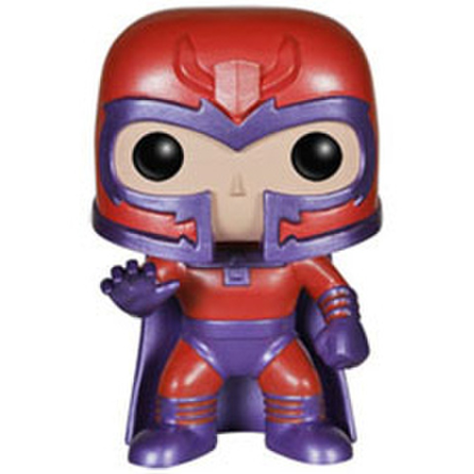 Marvel X-Men Magneto Metallic Exclusive Pop! Vinyl Bobble Head Figure