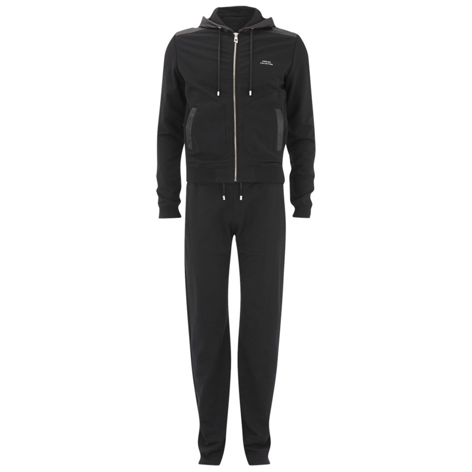 Versace Men S Fleece Tracksuit Black Free Uk Delivery