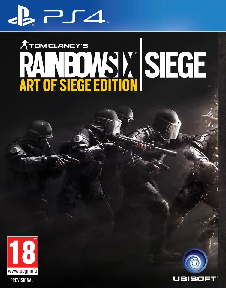 Tom Clancy's Rainbow Six: Siege Art of Siege Edition