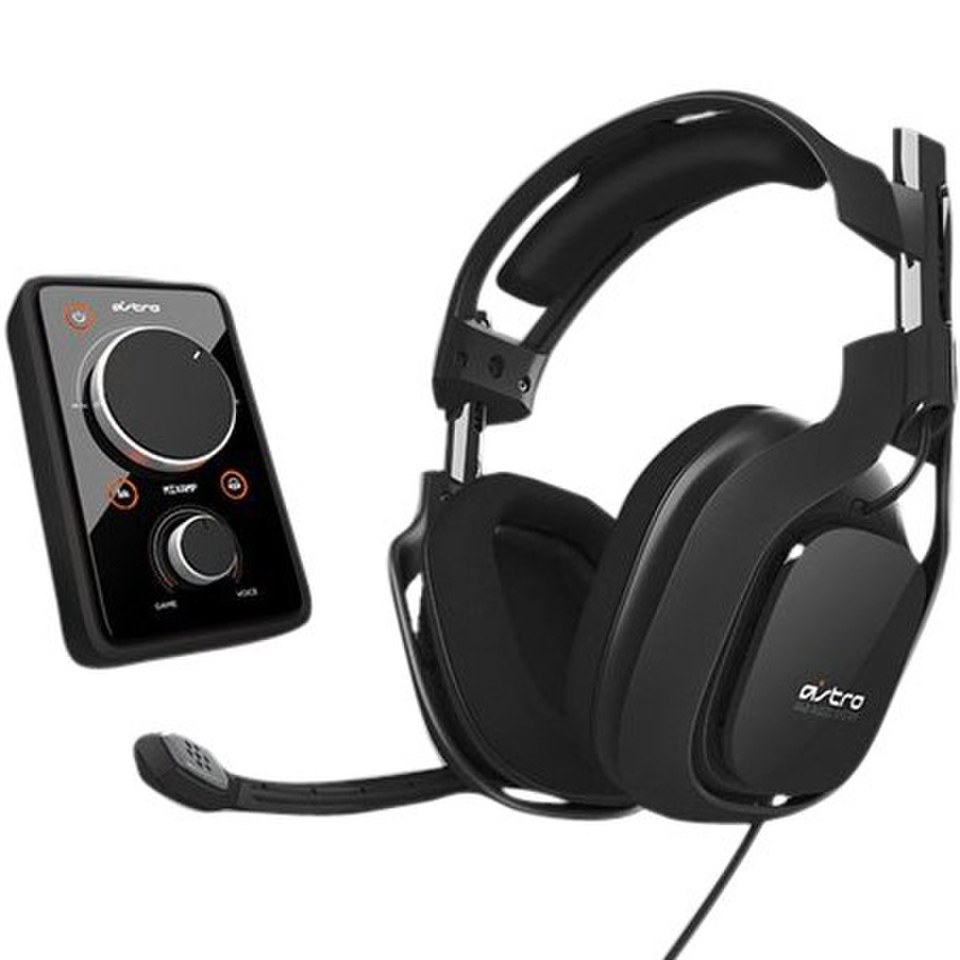 ASTRO Gaming A40 Wired Headset - Black (Xbox One, PS4, Xbox 360, PS3 ...