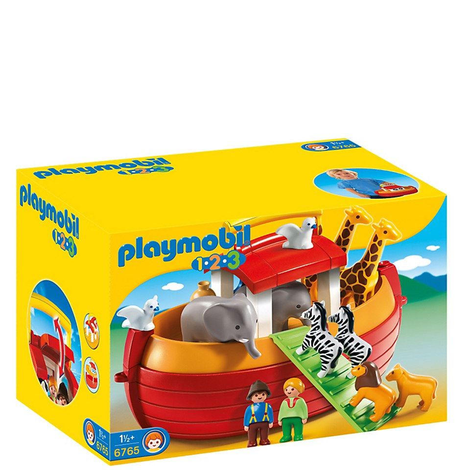 Playmobil 1.2.3 My Take Along Noah