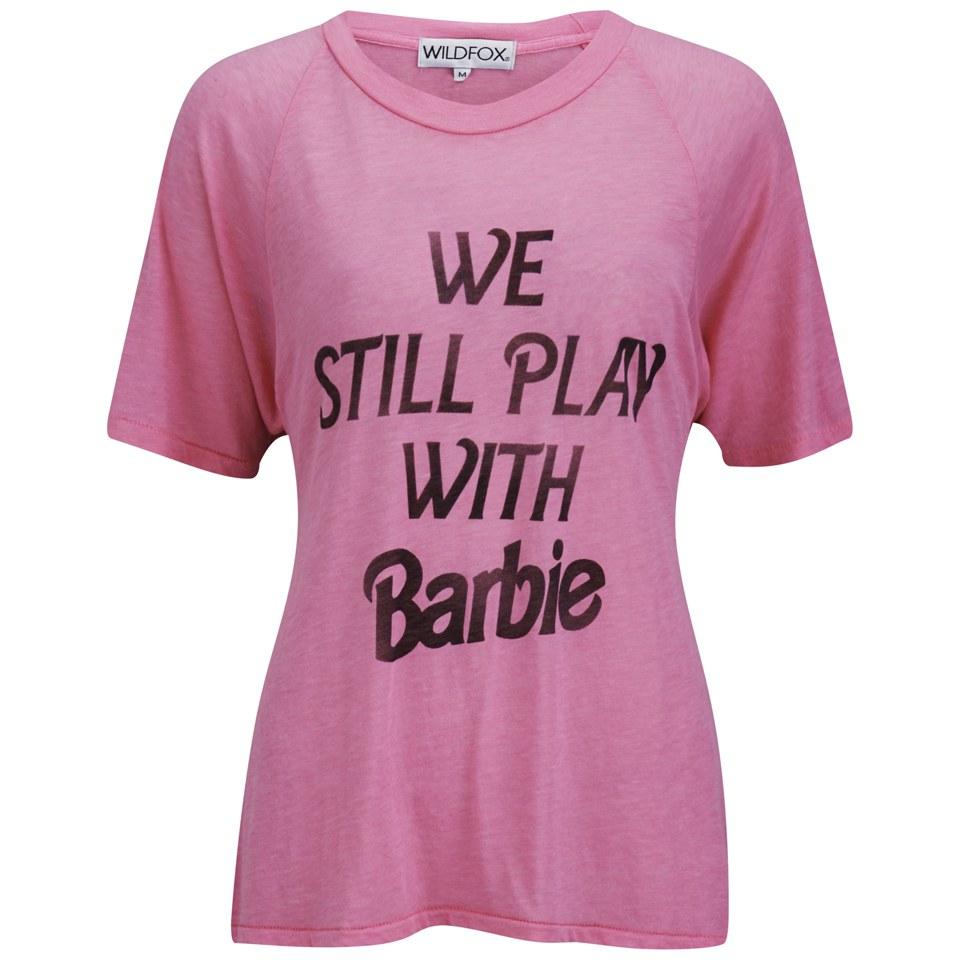 Wildfox Women S Not Too Old Barbie T Shirt Neon