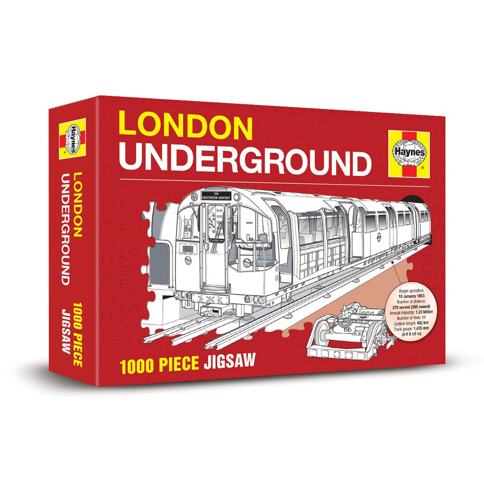Haynes Edition London Underground Jigsaw