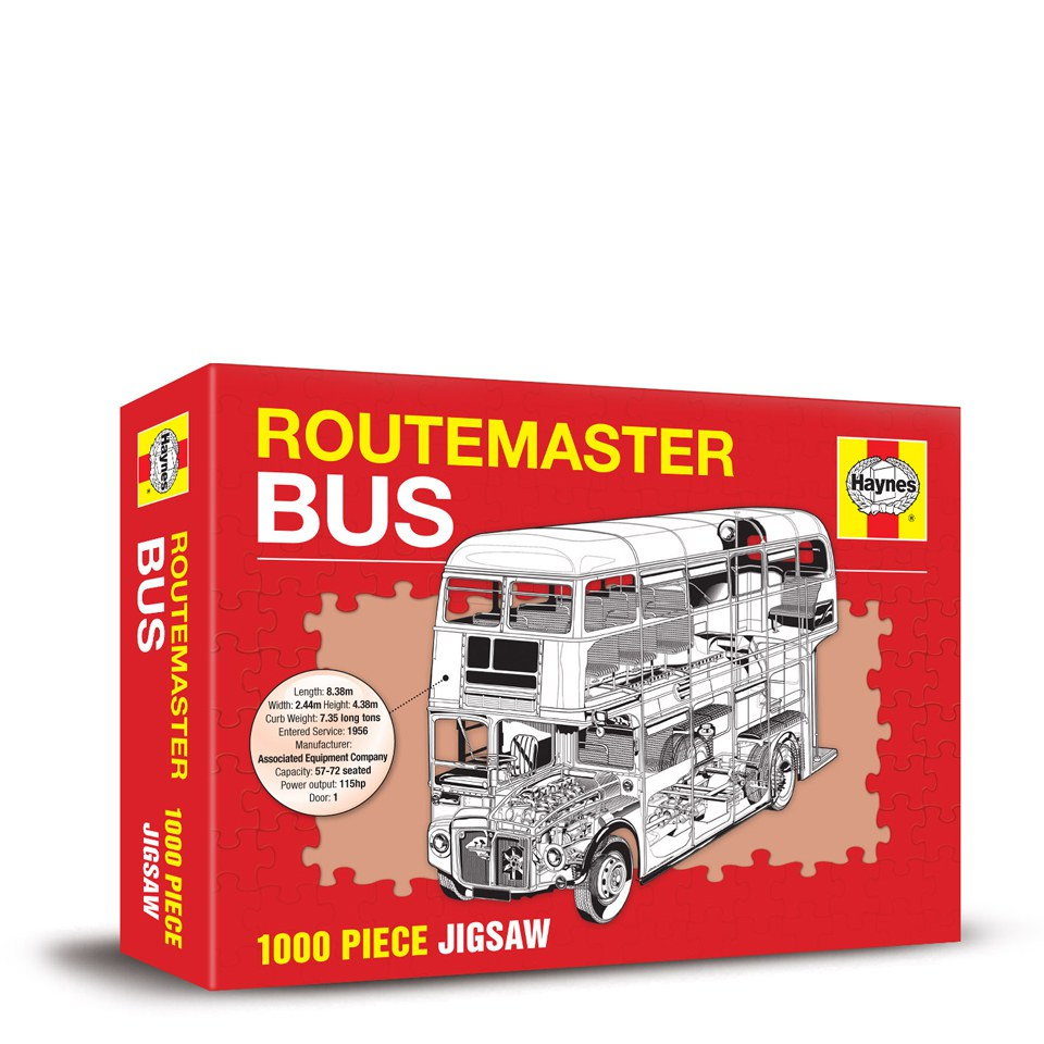 Routemaster Bus Haynes Edition Jigsaw