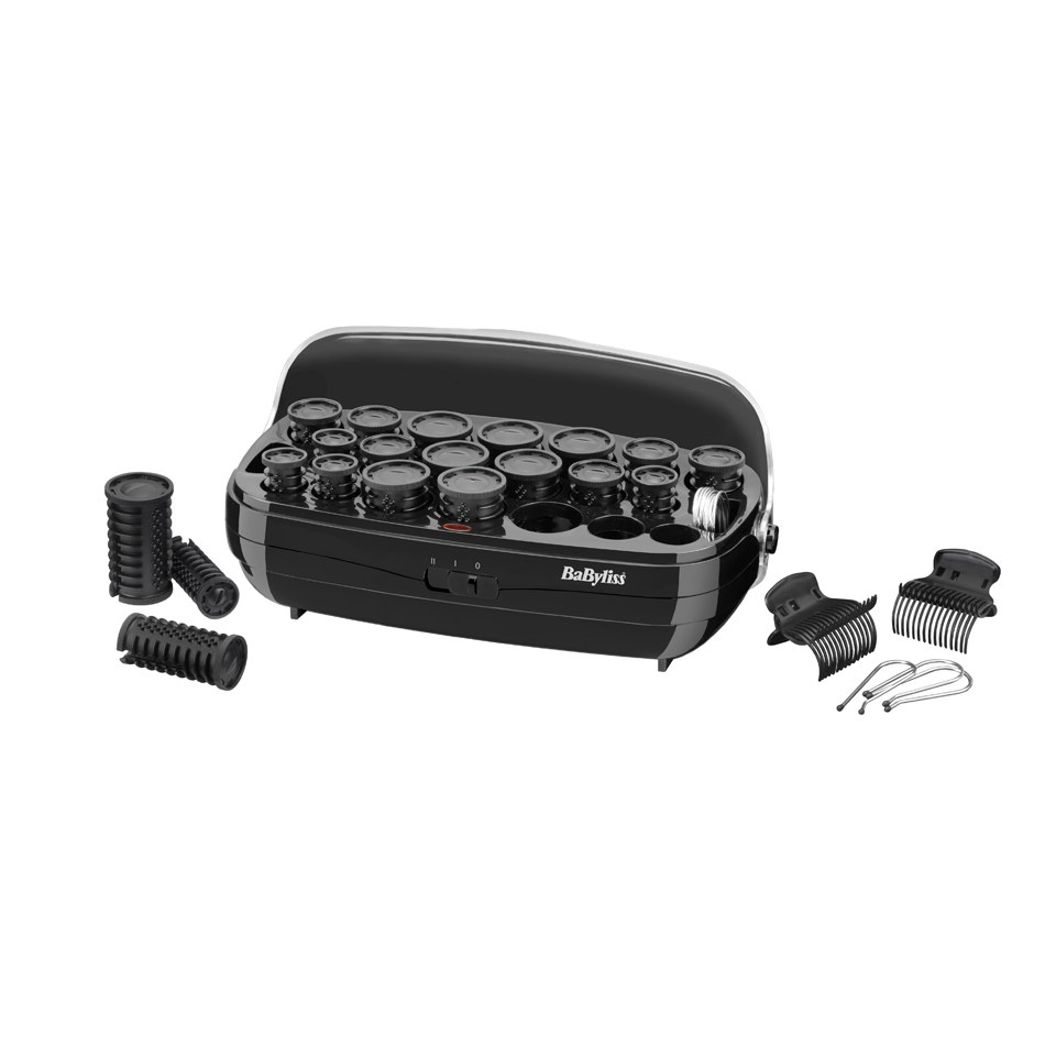 BaByliss Thermo-Ceramic Hair Rollers - Black  1f2eeda482