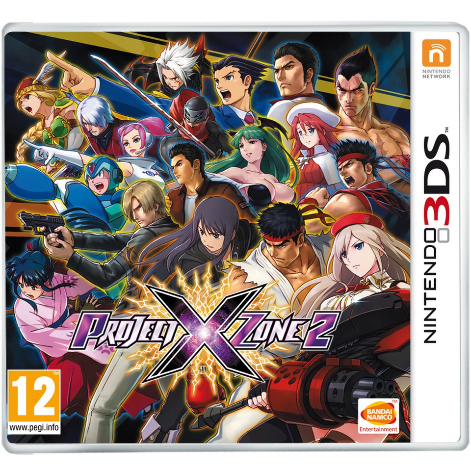 Project X Zone 2 Nintendo 3ds Zavvi