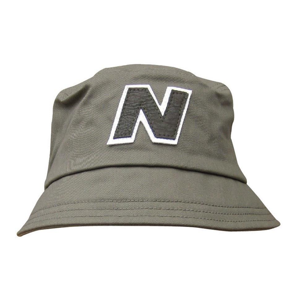 c38cde8a48b New Balance Men s Glasto Cotton Bucket Hat - Dark Green White ...