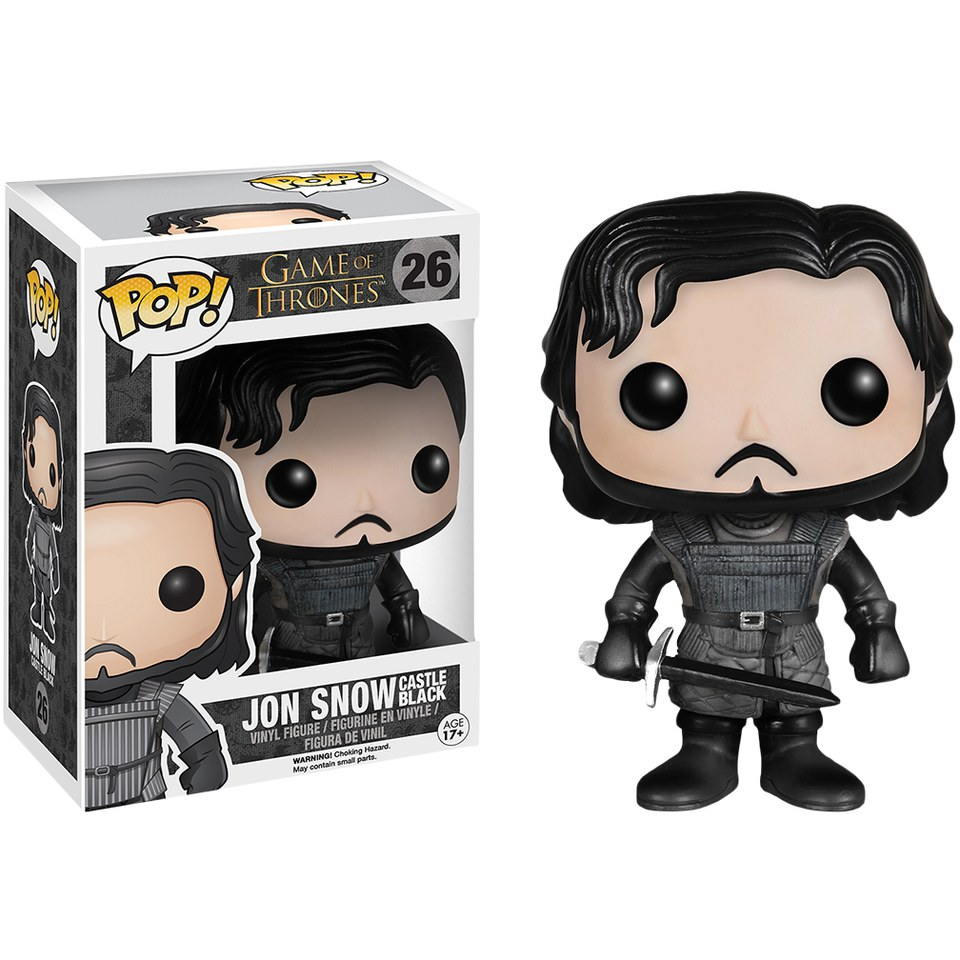 Game of Thrones Jon Snow Castle Black Pop! Vinyl Figure