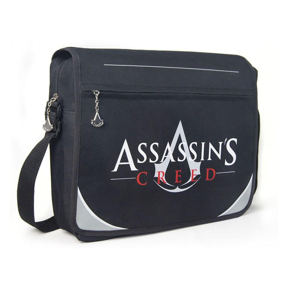 Assassin's Creed Premium Classic Logo Messenger Bag | IWOOT