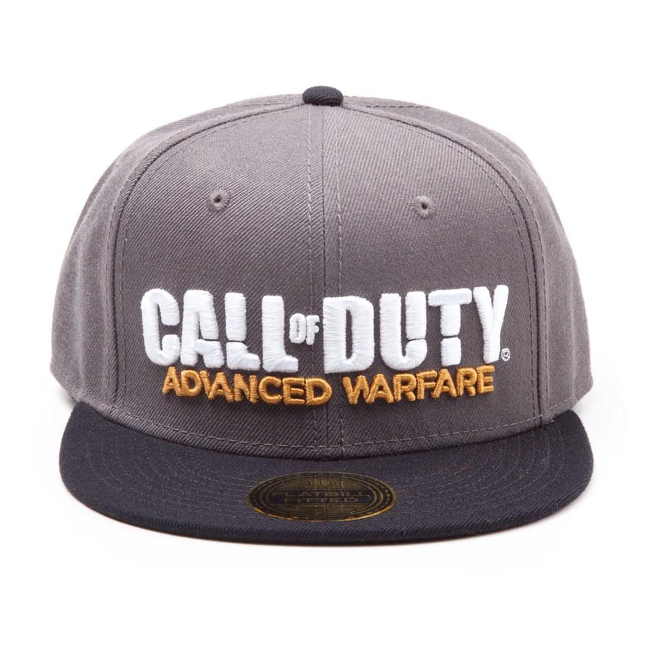 Call of Duty Advanced Warfare Stitched 3D Logo Flatbill Fitted Baseball Cap.  Description 1d338097b298