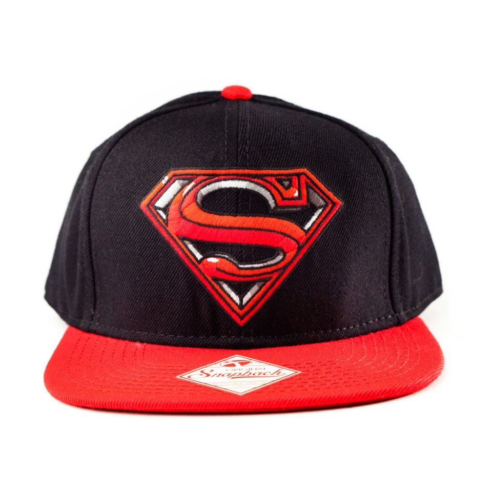 buy online a5762 15a4b ... italy dc comics superman man of steel snapback baseball cap aef99 96f91