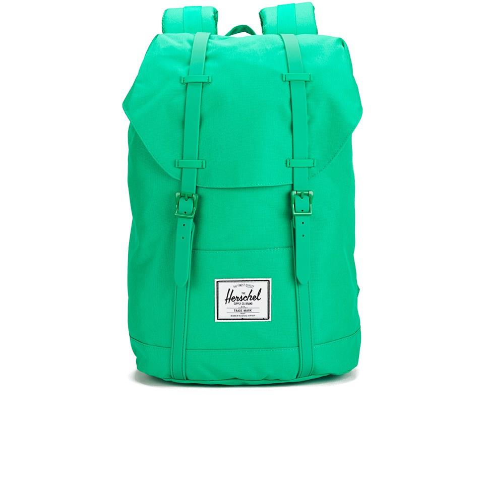 b4bb8d0fff1 Classics Retreat Backpack - Kelly Green Rubber Herschel Supply Co. Classics  Retreat Backpack - Kelly Green Rubber