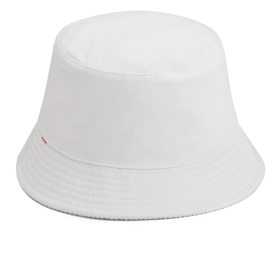 Herschel Supply Co. Lake Reversible Bucket Hat - White Seersucker - Free UK  Delivery over £50 8874869a8e34