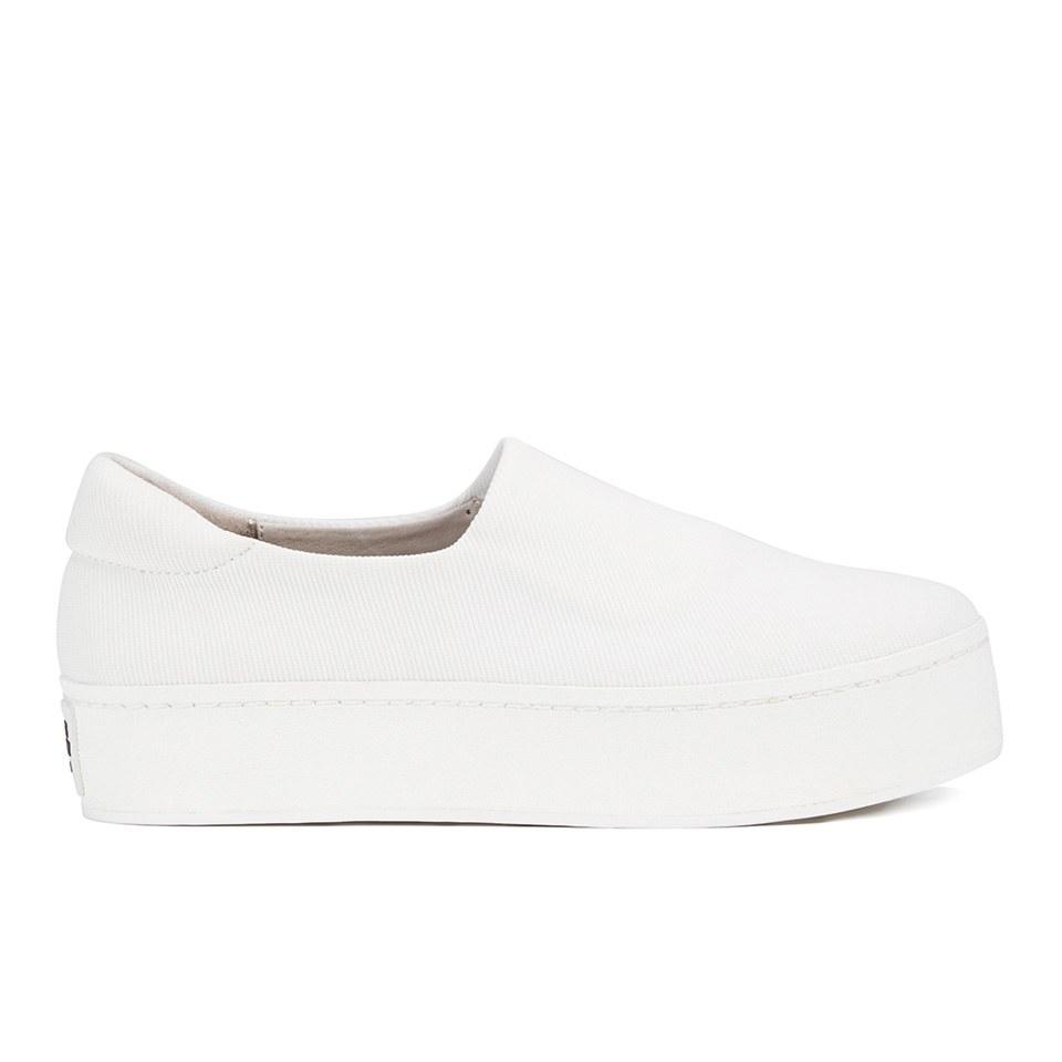 6706aaf8e044 Opening Ceremony Women s Slip On Platform Sneakers - White - Free UK ...