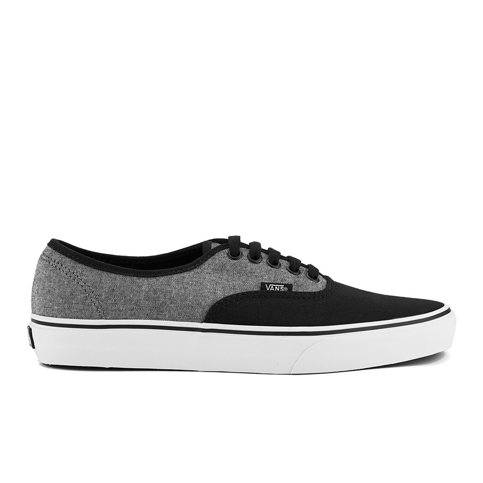 00a5ae2e37 Vans Men s Authentic C C Trainers - Black Pewter - Free UK Delivery ...