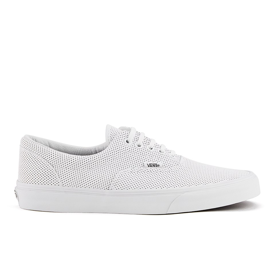9709357a7d Vans Men s Era Perforated Leather Trainers - True White - Free UK ...