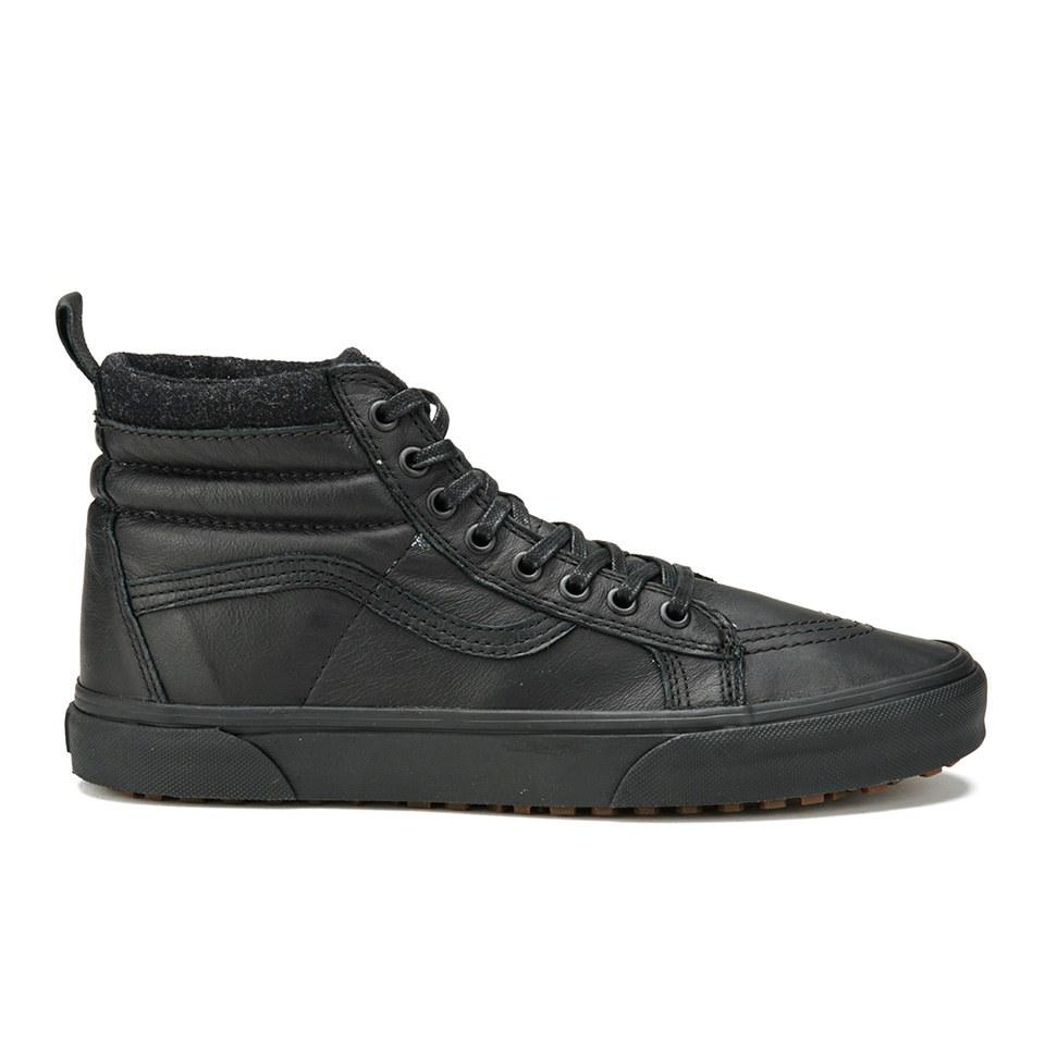 0dbe646aedf086 Vans Men s SK8-Hi MTE Leather Hi-Top Trainers - Black - Free UK ...