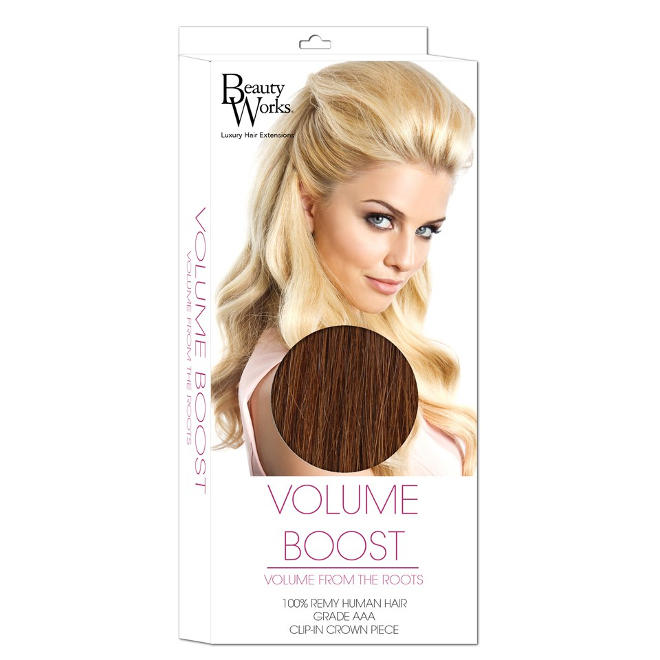 Beauty Works Volume Boost Hair Extensions 6 Caramel Free