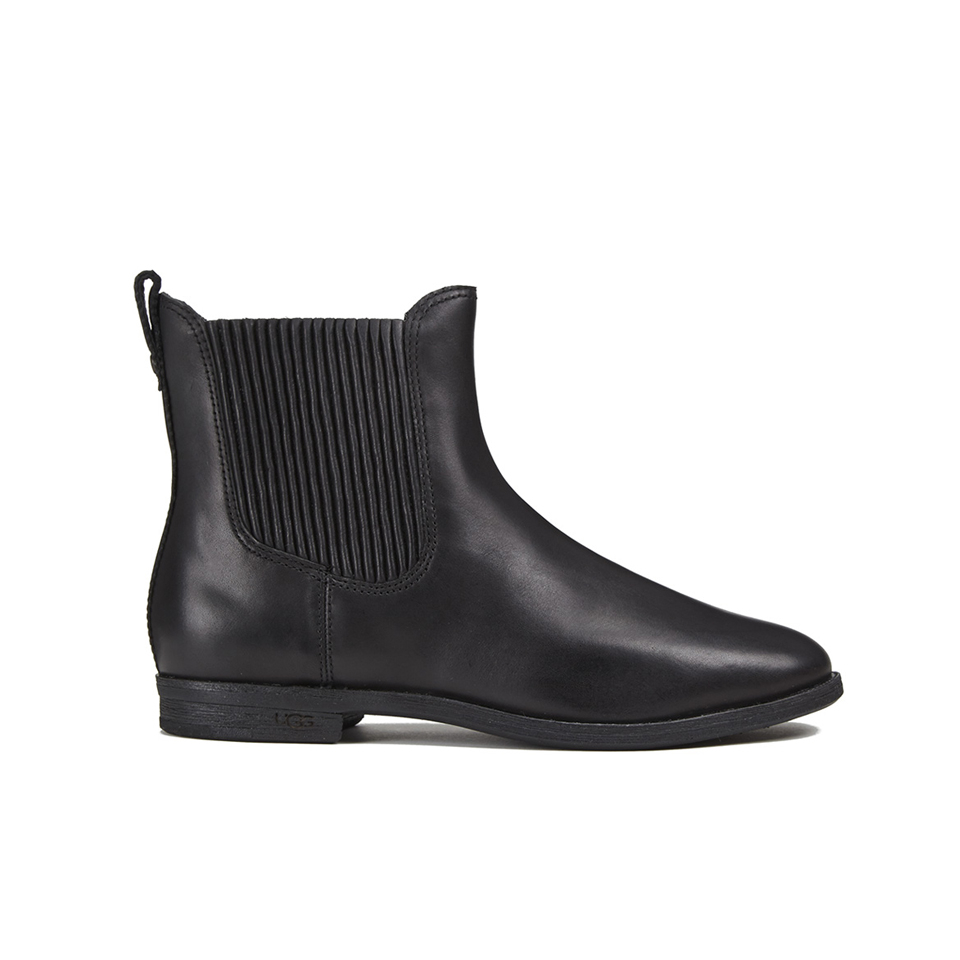 Joey Flat Chelsea Boots - Black