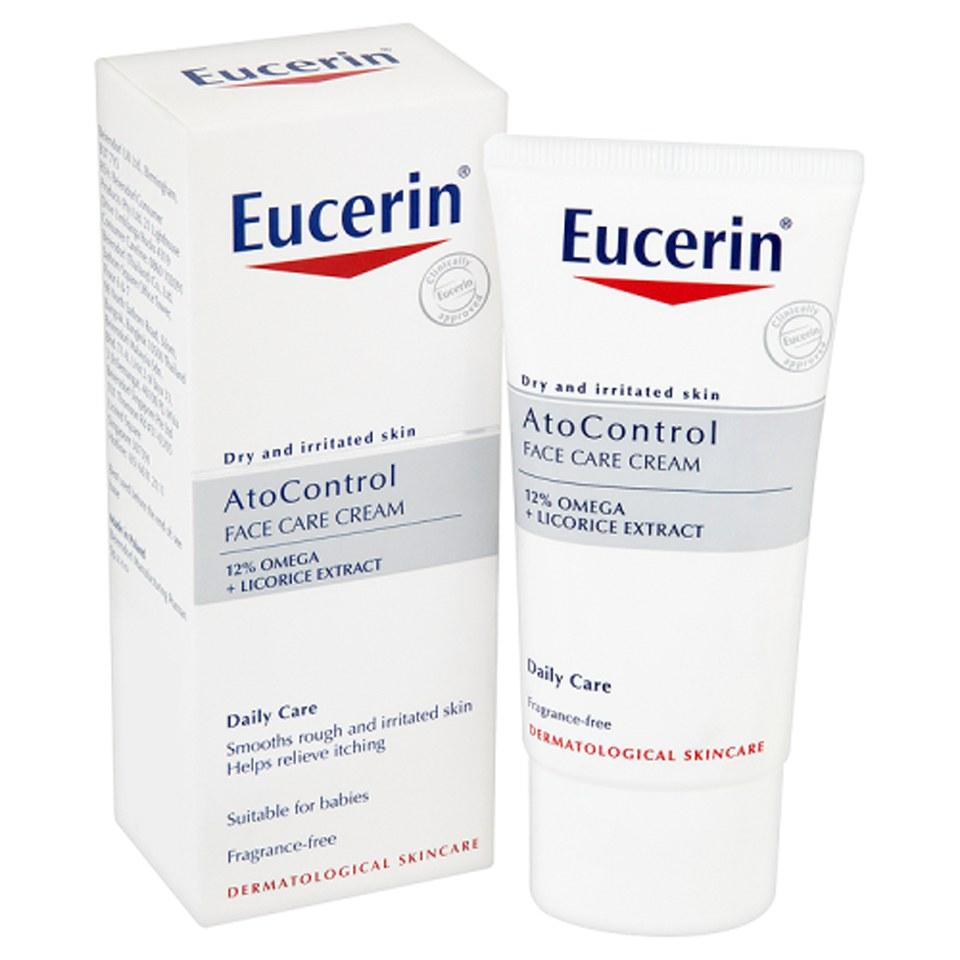 eucerin atocontrol face care cream 50ml free shipping lookfantastic. Black Bedroom Furniture Sets. Home Design Ideas