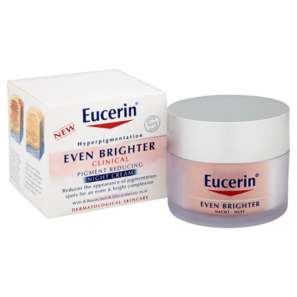 eucerin even brighter clinical pigment reducing night cream 50ml free shipping lookfantastic. Black Bedroom Furniture Sets. Home Design Ideas
