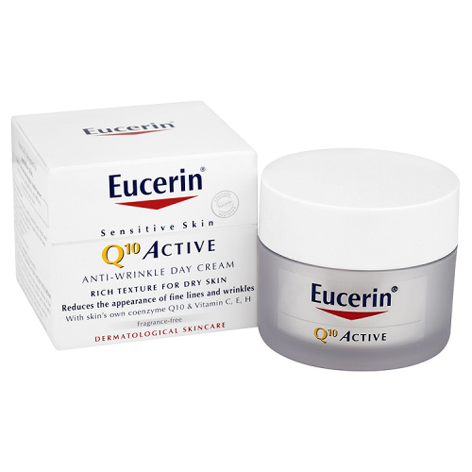 Eucerin 174 Sensitive Skin Q10 Active Anti Wrinkle Day Cream