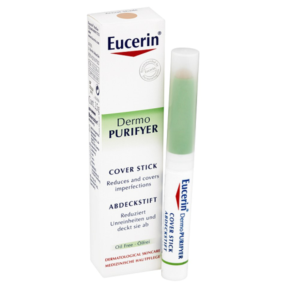 eucerin cover stick acne