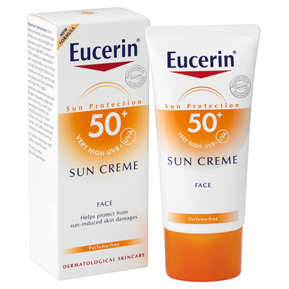 eucerin sun protection sun creme face 50 very high 50ml. Black Bedroom Furniture Sets. Home Design Ideas