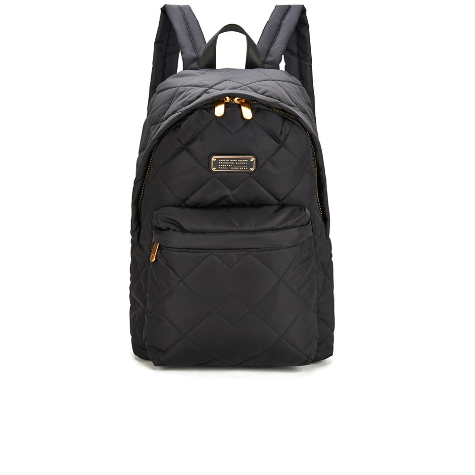 e309653342756 Marc by Marc Jacobs Women s Crosby Quilt Nylon Backpack - Black - Free UK  Delivery over £50
