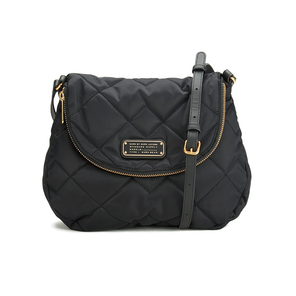 f3917a60361f ... Marc by Marc Jacobs Women s Crosby Quilt Nylon Natasha Cross Body Bag -  Black