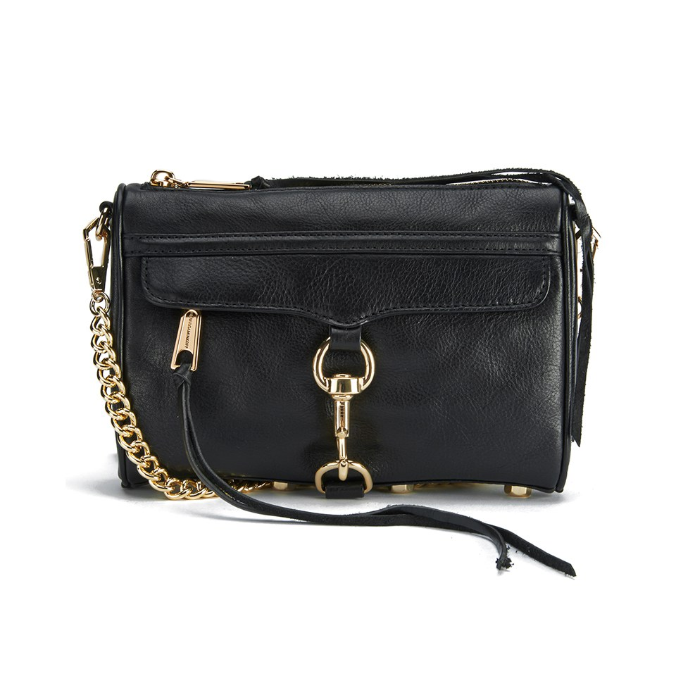 dc7c26c95 Rebecca Minkoff Women's Mini Mac Cross Body Bag - Black - Free UK Delivery  over £50