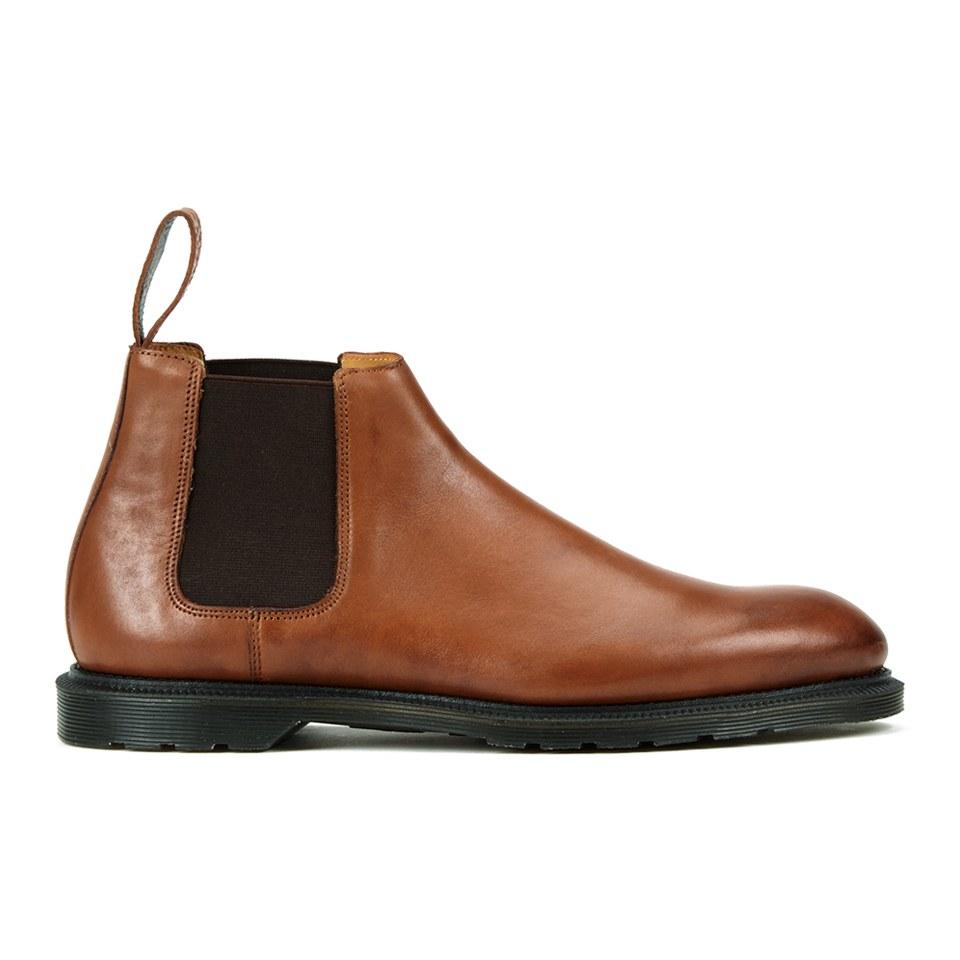 1b455005e62 Dr. Martens Men's Henley Wilde Temperley Leather Low Chelsea Boots - Oak