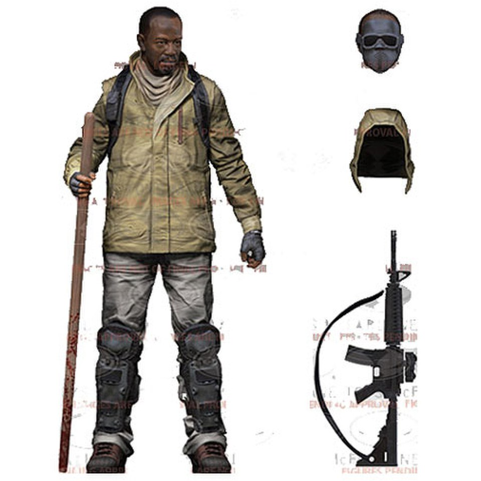The Walking Dead Series 8 Morgan Jones 5 Inch Action