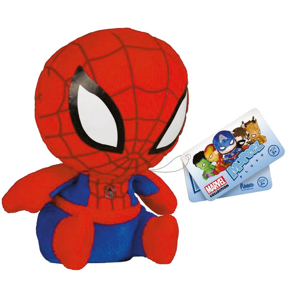 Mopeez Marvel Spider-Man Plush Figure