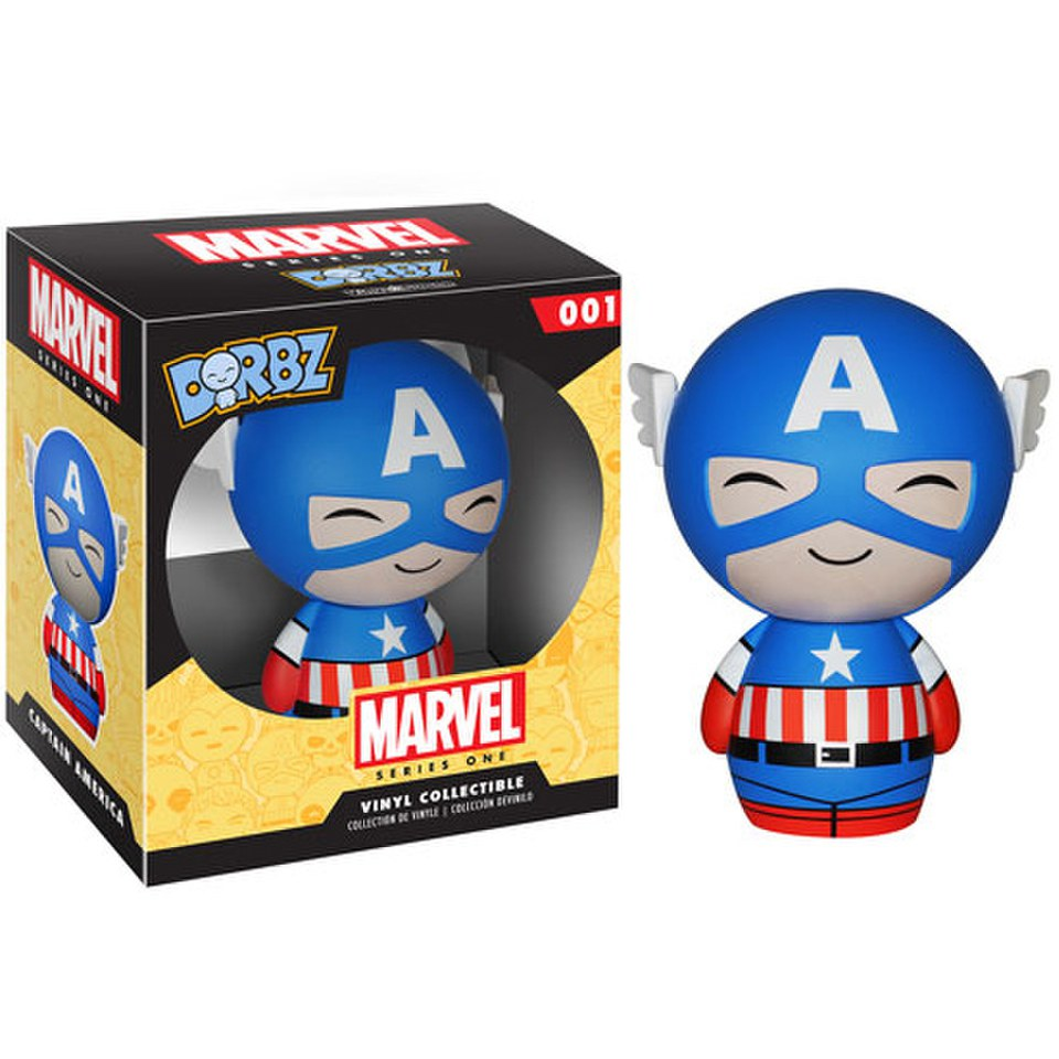 Marvel Captain America Vinyl Sugar Dorbz Action Figure