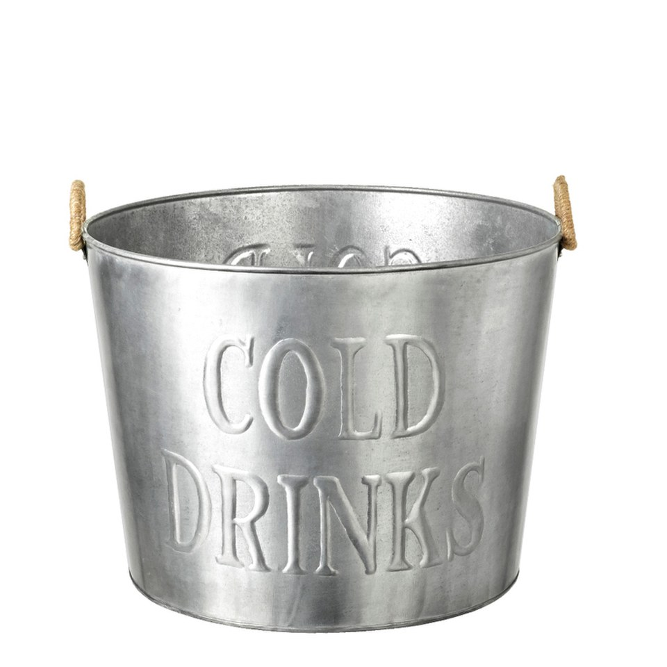 Parlane Drinks Bucket - Silver
